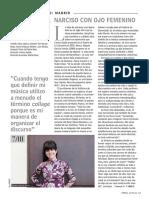 Entrevista Raquel García Tomás. Ópera Actual Nº 222 (Marzo 2019)