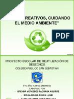 Presentación Proyecto reutilización de desechos