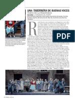 Crítica 'La Tabernera del Puerto'. Ópera Actual Nº 222 (Marzo 2019)
