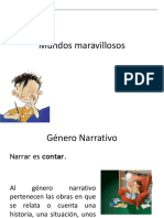 textos narrativos  ppt