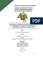 La Actividad Puzolánica de Un Catalizador de Fcc de Residuos Calcinados y Su Efecto Sobre La Resistencia a La Compresión de Los Materiales Cementantes