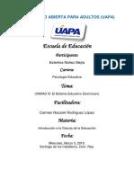 Tarea III Introduccion a la educacion.docx