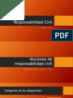 Presentación acerca de la Responsabilidad Civil