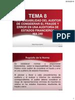 Tema 8 Responsabilidad del Auditor del fraude y error.pdf