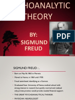 Psychoanalytic Theory By