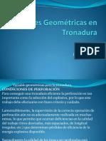 Variables Geométricas en Tronadura