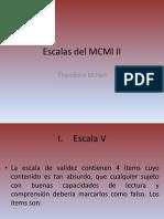 Escalas Del MCMI II