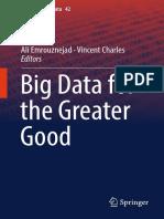 [Studies in Big Data 42] Ali Emrouznejad, Vincent Charles (eds.) - Big Data for the Greater Good (2018, Springer).pdf