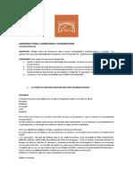 Seminario Poesía, Complejidad y Transdisciplina  , Coromoto Renaud