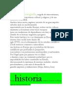 LEHISTORIA DE LA eDUCACIÓN EN AMERICA COLONIAL , DOCTORADO.docx