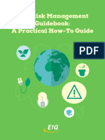 EHS Risk Management Guidebook a Practical How-To Guide