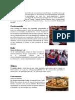 comida y danza de las cuatro culturas de Guatemala.docx