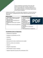 La Pulpectomía es una técnica endodóntica que permite el retiro total.docx