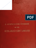 A comparative grammar of the South-African Bantu languages