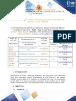 Biotecnología Trabajo Colaborativo - Fase Individual