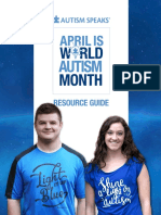 World Autism Awareness Month Guideline