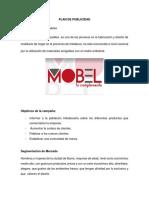 Plan de Publicidad Mobel