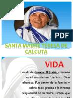 Beata Madre Teresa Exposicion