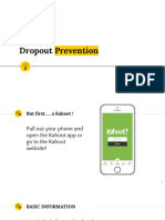 drop out prevention pd