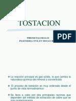 Tostacion y Yacimiento