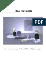 V Ray Tutorial Material 11 A
