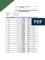 Base de Datos Nobex Para 2013 2018