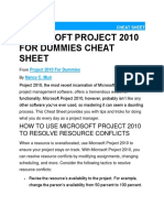 Ms-Project 2010 Cheat Sheet.docx