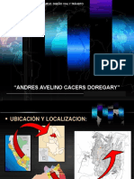 Analisis Vial de Andres Avelino Caceres