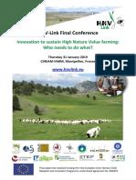 HNV-Link Conference Programme v2018!11!30