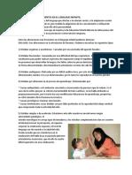 PROBLEMAS MÁS FRECUENTES EN EL LENGUAJE INFANTIL.docx