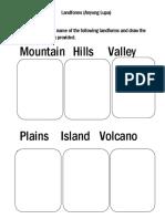 Landforms multi.docx