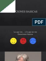 EMOCIONES BASICAS