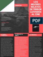 Los Mejores Relatos de Terror Llevados Al Cine