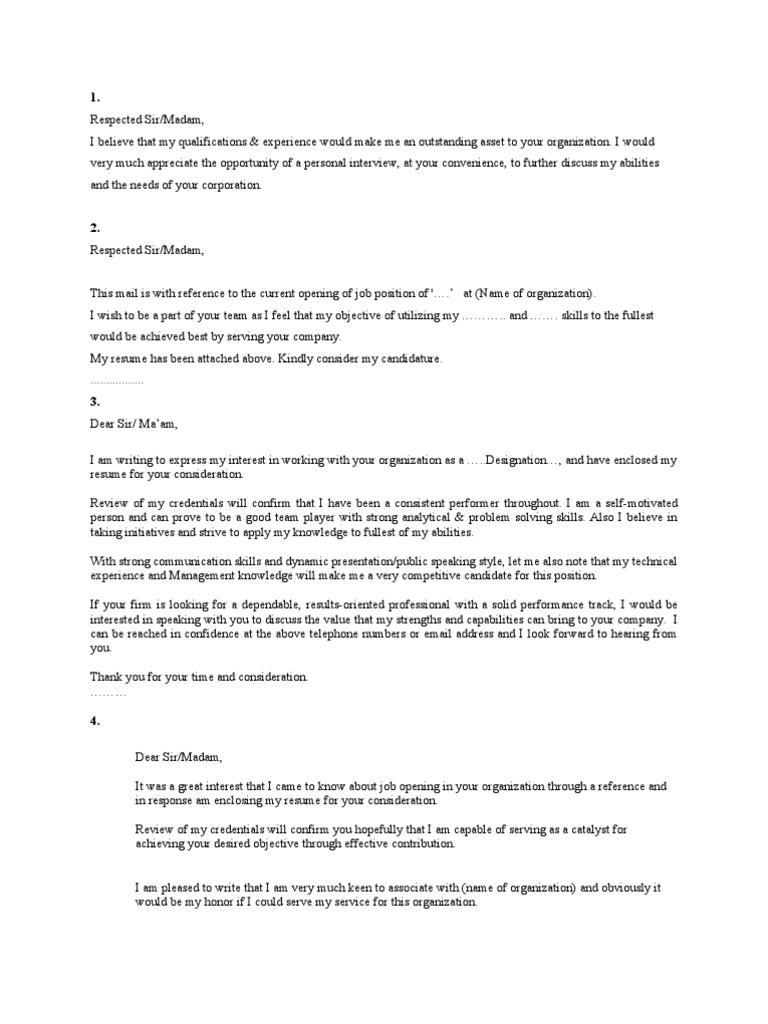 25 Cover Letters   Résumé   Behavioural Sciences