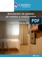 Simulador Cesim Hopitality - Instrucciones de uso