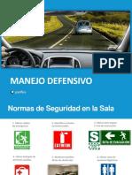 GUÍA DE MANEJO A LA DEFENSIVA