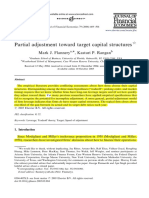 Paper 2. 2006, Partial adjustment toward target capital structures aquí.pdf
