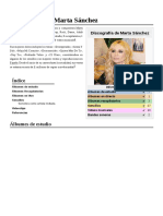 Discografía de Marta Sánchez