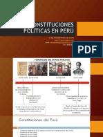 LAS CONSTITUCIONES POLÍTICAS EN PERÚ.ppt
