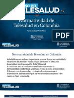Dllo de La Telesalud en America Latina CEPAL 2013