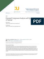 Principal Component Analysis and Optimization_ a Tutorial
