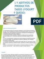 INSUMOS Y ADITIVOS DE LOS PRODUCTOS FERMENTADOS (.pptx