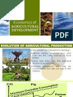 Economics of AgriDev