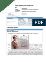 SESIÓN DE APRENDIZAJE  DE COMUNICACION QUINTO 2018.docx