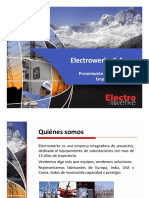 Presentacion Portafolio ELECTROWERKE