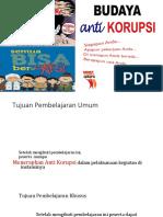 Budaya Anti Korupsi _Posbindu PTM.ppt