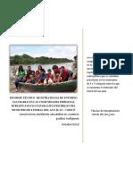 Informe de Entorno Saludable Litoral Del San Juan