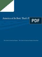 American Progress Marketing Brochure