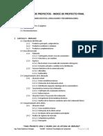Indice y Guia Evaluacion de Proyectos (Proyecto Final Ing. Paola Espinosa)