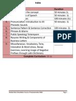 Curriculum CE 1st Year SG